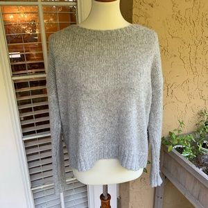 American Eagle Grey Crewneck Sweater